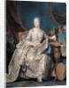 Jeanne Poisson the Marquise de Pompadour by Maurice Quentin de la Tour