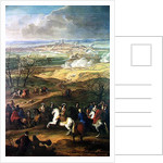The Siege of Mons by Louis XIV by French School