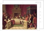 Moliere Dining with Louis XIV by Jean Auguste Dominique Ingres
