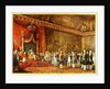 Napoleon Receiving the Delegation from the Roman Senate by Innocent Louis Goubaud