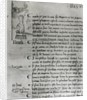 Page from 'The Register of the Council of the Parliament of Paris' depicting Joan of Arc by French School