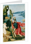 The Legend of St. Christopher by French School