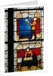 Cloth Merchant's Window by French School