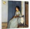Mademoiselle Monnom by Fernand Khnopff