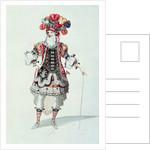 Ballet Costume by Jean II Berain
