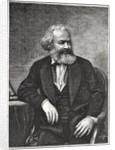 Portrait of Karl Marx by French School