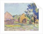 Haystacks at Saint-Cheron by Jean Baptiste Armand Guillaumin