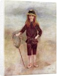 The Little Fisherwoman (Marthe Berard) by Pierre Auguste Renoir