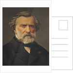 Ambroise Thomas previously thought to be Giuseppe Verdi by Italian School