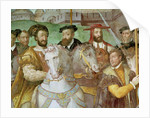 Detail from The Solemn Entrance of Emperor Charles V, Francis I and Alessandro Farnese to Paris in 1540 by Taddeo & Federico Zuccaro