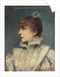 Sarah Bernhardt 1875 by Louise Abbema