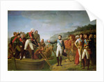 Farewell of Napoleon I and Alexander I after the Peace of Tilsit by Gioacchino Giuseppe Serangeli