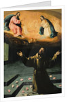 St. Francis of Assisi, or The Miracle of the Roses by Francisco de Zurbaran