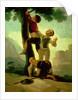 Boys Climbing a Tree, cartoon for a tapestry by Francisco Jose de Goya y Lucientes