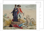 Revolutionary cartoon about 'Tithes, Taxes and Graft' by French School