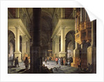 Interior of a Temple by Anthonie Delorme