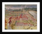General View of the Abbey from 'l'Abbaye de Port-Royal' by Louise Madelaine Cochin