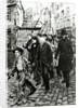 Gavroche Leading a Demonstration by Pierre Georges Jeanniot