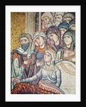 The Raising of Jairus's Daughter by Byzantine School