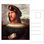 Cesare Borgia Duke of Valencia by Altobello Meloni