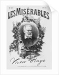 Titlepage of the first edition of 'Les Miserables' by Victor Hugo by French School