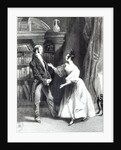 'She then told him what Mr Darcy had voluntarily done for Lydia. He heard her with astonishment' by George Pickering