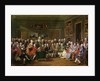 Reading of the Tragedy 'L'Orphelin de la Chine' in the Salon of Madame Geoffrin, or An Evening at Madame Geoffrin's by Anicet-Charles Lemonnier