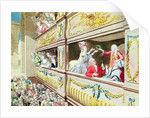 Coronation of Voltaire at the Theatre Francais by French School