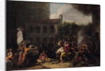 The Storming of the Bastille and the Arrest of Joseph Delaunay on 14th July 1789, 1789-93 by Charles Thevenin