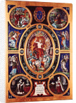 Altarpiece of Sainte-Chapelle, depicting the Resurrection, enamelled by Leonard Limosin by Niccolo dell' Abate