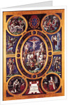 Altarpiece of Sainte-Chapelle, depicting the Crucifixion by Niccolo dell' Abate