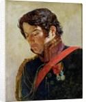 Study for a Portrait of Baron Dominique Larrey by Paulin Jean Baptiste Guerin