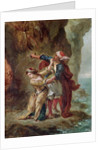 The Bride of Abydos by Ferdinand Victor Eugene Delacroix