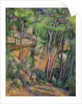 In the Park of Chateau Noir by Paul Cezanne
