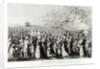 Meeting in the Desert, engraved by L. Bellotti by J.J. Storni