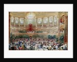 Dinner in the Salle des Spectacles at Versailles by Eugene-Louis Lami