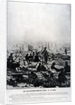 Cannons on the Buttes-Montmartre on the Eve of the 18th March by French School