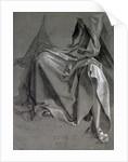 Study of the robes of Christ by Albrecht Dürer or Duerer