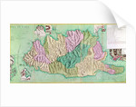 Military map of Corsica by French School