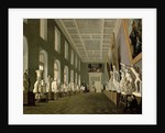 The Antiquities Gallery of the Academy of Fine Arts by Grigory Mikhailov