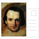 Study for a portrait of Victor Hugo c.1836 by Francois Joseph Heim
