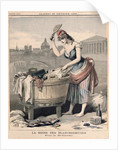 Marianne, the Queen of the Washerwomen by French School