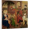 Adoration of the Magi by Martin Schongauer