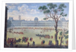 Imaginary View of the Tuileries by French School