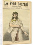 M. Mounet-Sully in Oedipus Rex at the Comédie-Française by French School
