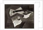 Guitar and Fruit bowl by Juan Gris
