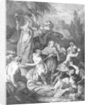 Allegory of The Independent America, dedicated to the American Congress by Antoine Borel