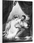 Henri IV, King of France and his Mistress Gabrielle d'Estrees by French School