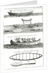 Canoe of the Iroquois by French School