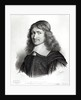 Portrait of Nicolas Fouquet engraved by Maurin by Robert Nanteuil